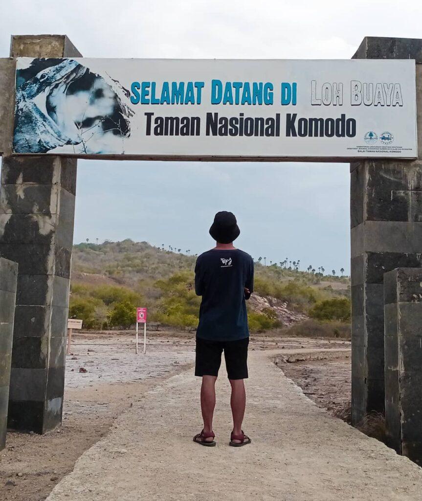 loh buaya pulau rinca, taman nasional komodo